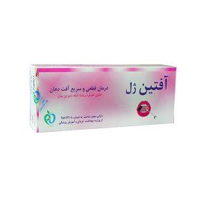 آفتین ژل درمان آفت دهان