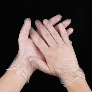 دستکش وینیل تاچ فلکس