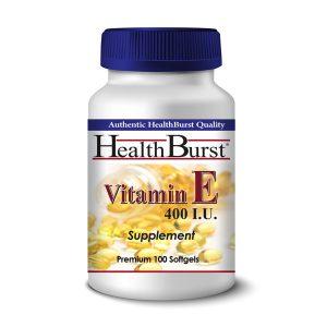 سافت ژل ویتامین ای 400 هلث برست بسته 100 عددی