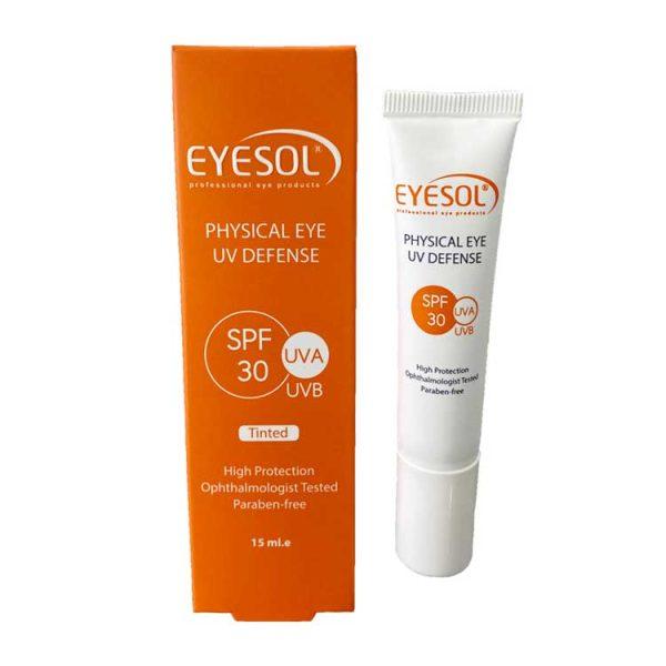 ضد آفتاب دور چشم رنگی SPF30 آیسول