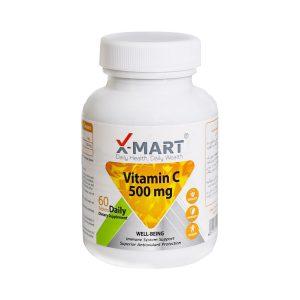 قرص ویتامین ث 500 میلی گرم ایکس مارت