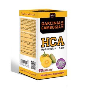 قرص گارسینیا کامبوجیا بنیان سلامت کسری بسته 90 عددی