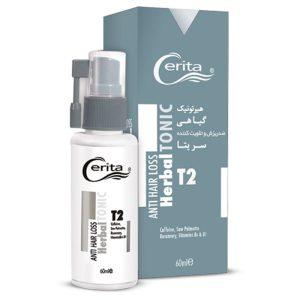 هیرتونیک گیاهی T2 سریتا مناسب انواع مو