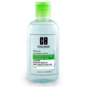 محلول پاک کننده میسلار پوست چرب چلنج