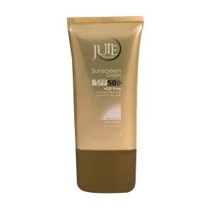 کرم ضد آفتاب بی رنگ SPF 50 ژوت مناسب پوست چرب