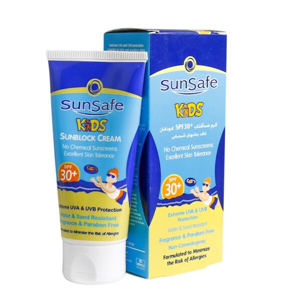 کرم ضد آفتاب SPF30 کودکان سان سیف