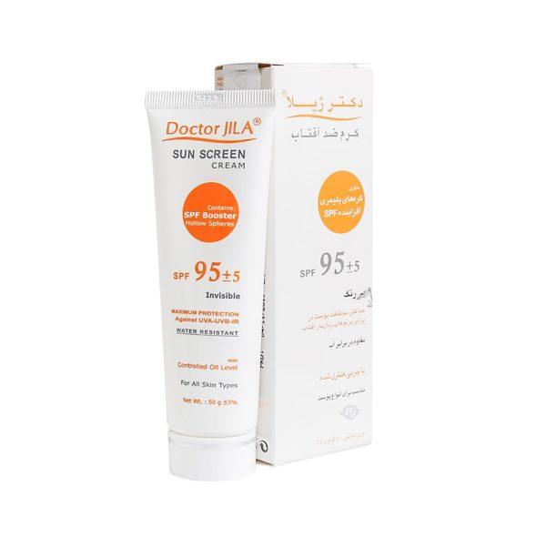 کرم ضد آفتاب SPF95 دکتر ژیلا