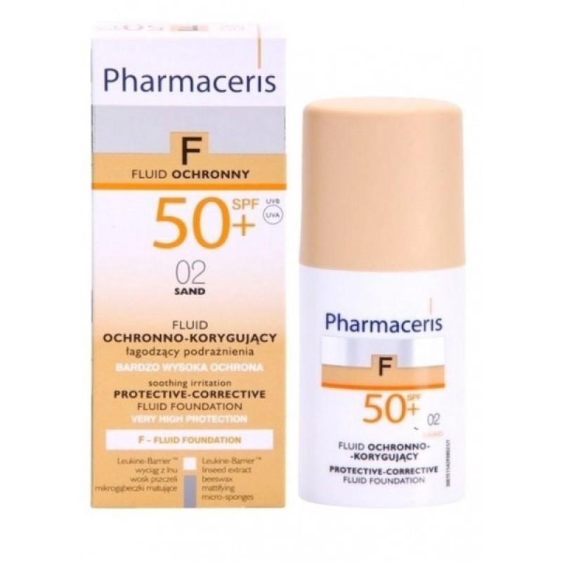 کرم پودر مایع همراه با ضد آفتاب +SPF50 فارماسریز