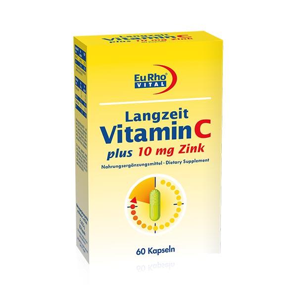 کپسول ویتامین ث و زینک پلاس یوروویتال