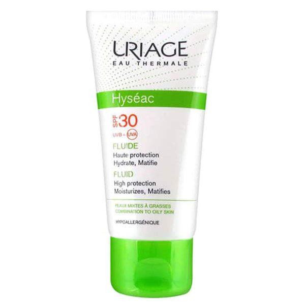 فلوئید ضد آفتاب هایسئک SPF30 اوریاژ