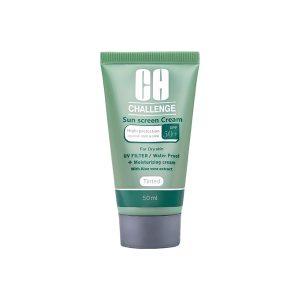کرم ضد آفتاب رنگی SPF٥٠ چلنج مناسب پوست خشک و نرمال