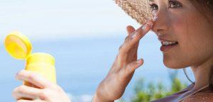 فواید مصرف کرم ضد آفتاب