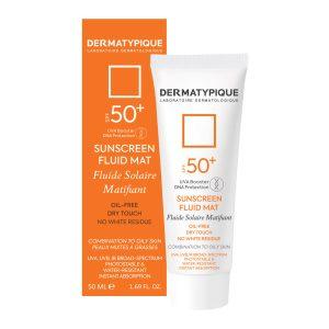 ضد آفتاب بیرنگ فاقد چربی +SPF50 درماتیپیک