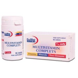 قرص مولتی ویتامین کامپلیت یوروویتال