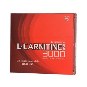 ویال خوراکی ال کارنیتین 3000 بی اس کی