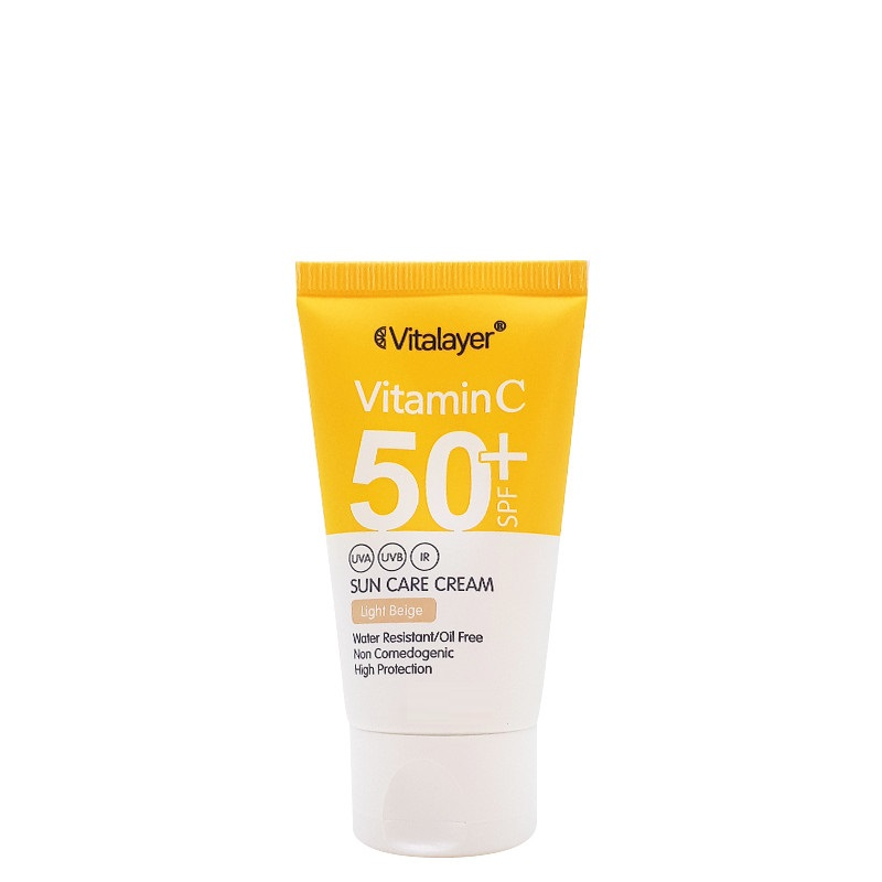 کرم-ضد-آفتاب-رنگی-SPF50-ویتالیر-1