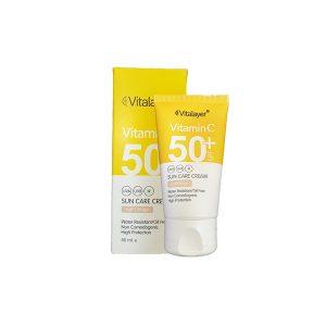 کرم ضد آفتاب رنگی SPF50 ویتالیر