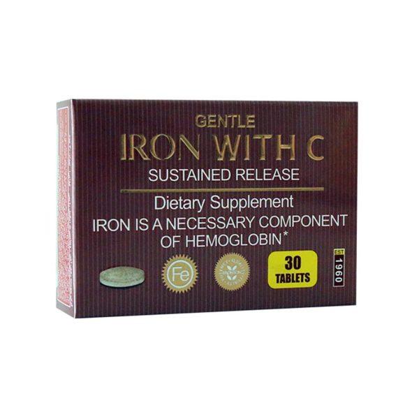 قرص آهن با ویتامین C برانسون