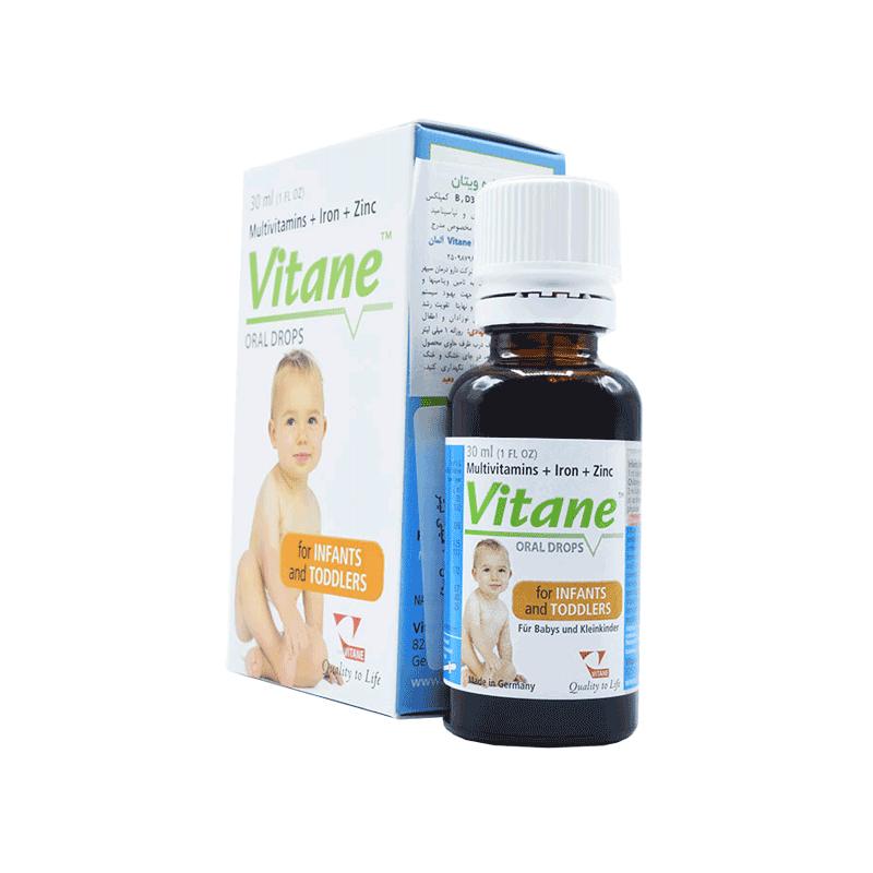 قطره مولتی ویتامین با آهن و زینک ویتان
