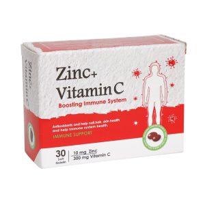 کپسول زینک پلاس و ویتامین ث دانا فارما