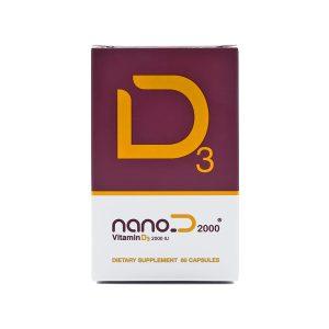 کپسول نانو دی ۲۰۰۰ نانو حیات دارو