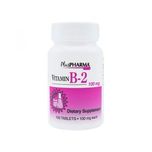 ویتامین ب2 100میلی گرم پلاس فارما