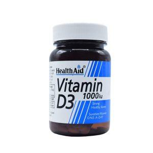 قرص ویتامین D3 1000 هلث اید