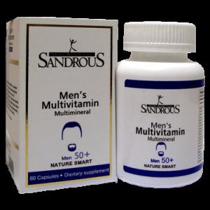 کپسول مولتی ویتامین آقایان سندروس بالای 50 سال