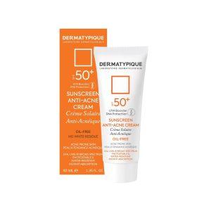 کرم ضد آفتاب و ضد جوش SPF50 درماتیپیک