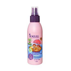 اسپری ضد آفتاب کودک سی گل SPF50 مدل Pink