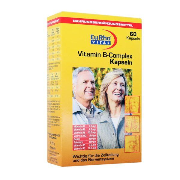 کپسول ویتامین ب کمپلکس یوروویتال