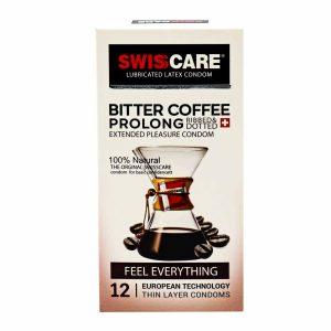 کاندوم سوئیس کر مدل قهوه تلخ
