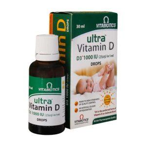 قطره خوراکی اولترا ویتامین D3 ویتابیوتیکس